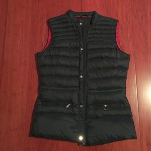 Olivia Miller navy blue vest, size XS
